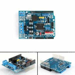 L298p Dc Motor Driver Shield Module 2a H bridge 2 Way For Arduino Uno Mega Usa