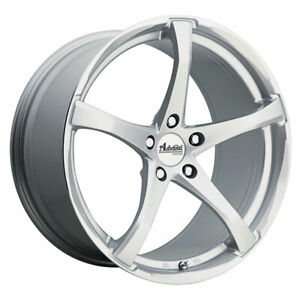 Closeout Advanti Denaro 19x9 5 5x120 40 Silver Qty Of 4
