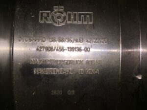 Rohm Ovushhhd Hydraulic Double Piston Cylinder New In Box