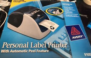 Avery 9100 Personal Label Maker Thermal Printer Brand New With Extras