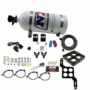 Nitrous Express 60547 10 Dominator Billet Crossbar Stage 6 W 10 Lb Bottle 100