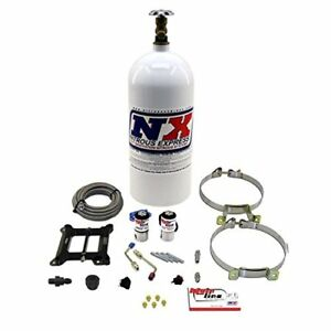 Nitrous Express Ml1000 Mainline 5 10 Psi Carbureted Plate System With 10 Lbs B