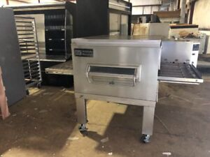 Middleby Marshall Used Commercial Conveyor Pizza Oven Gas Oven Used