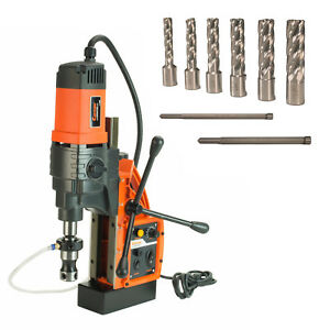Cayken Kcy 48 2wdo 1 8 Magnetic Drill Press With 7pc 2 Small Annular Cutters
