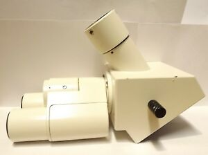 Zeiss Trinocular Microscope Head Axio Series Part 452909 Axiolab Axiostar