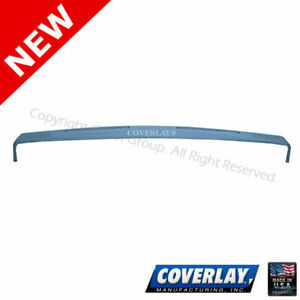 Light Blue Dash Board Cover Upper Dash 18 300 lbl For Brougham coverlay