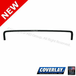 Black Dash Board Cover 12 303 Blk For Thunderbird Front Upper Coverlay