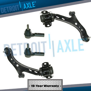 Front Lower Control Arm Ball Joint Outer Tierod 2008 2009 2010 Ford Mustang