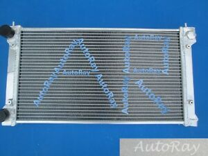Full Aluminum Radiator For Vw Golf Mk1 Mk2 Gti scirocco 1 6 1 8 8v Manual