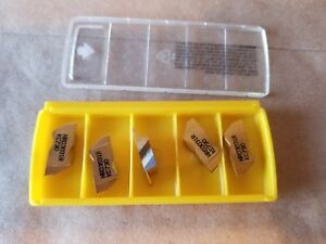5 Kennametal Nrd3031r Kc730 Top Notch Grooving Inserts Machine Shop