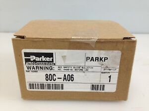 Parker Parkrimp 80c a06 40 Series Crimping Tool Die Yellow 3 8