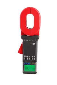 Etcr2000 Clamp On Ground Earth Resistance Tester Meter Rs232 brand New