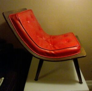 Mid Century Modern Carter Bros Bentwood Scoop Childs Chair