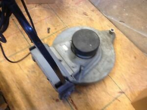 Clarke Ultra Speed High Speed Floor Burnisher 1500 Rpm With Dust Control Used