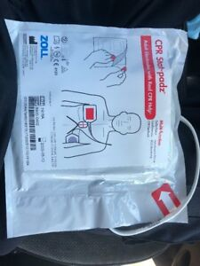 Zoll Cpr Stat padz Adult Electrodes W Real Cpr Help total Of 8