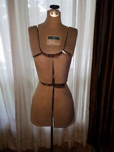Vintage Hearthside 14 Section Dressmakers Dress Form Adjustable Mannequin Size A