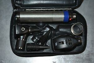 Welch Allyn 3 5v Otoscope Ophthalmoscope Diagnostic Set 2
