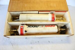 Hurst 380 0003 Vintage Super Air Shocks Heavy Loads White Pair