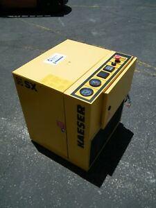 Kaeser Sx 1 3 Hp Rotary Screw Air Compressor Ingersoll Rand Atlas Copco Lab