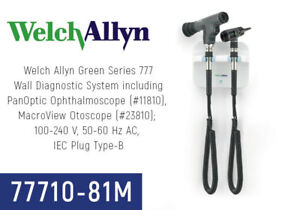 Welch Allyn 777 Wall Transformer W Panoptic Ophthalmoscope Macroview Otoscope