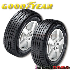 2 Goodyear Assurance All Season 195 65r15 91t Performance Tires