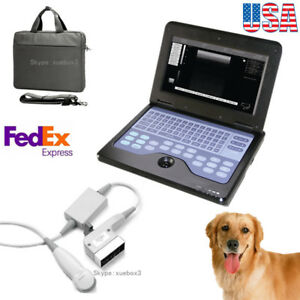 Vet Portable Ultrasound Scanner System micro Convex Probe cat dog small Animals