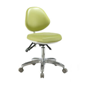 Dental Dentist Stool Pu Leather Adjustable Mobile Doctor Chair Deluxe Qy600