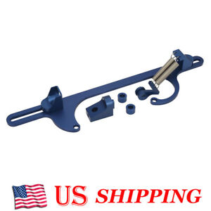 Aluminum Throttle Cable Carb Bracket For Holley 4150 4160 Series Carburetor 350