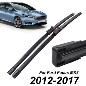 2x 28 Front Window Windshield Wiper Blades For Ford Focus Mk3 2012 2017