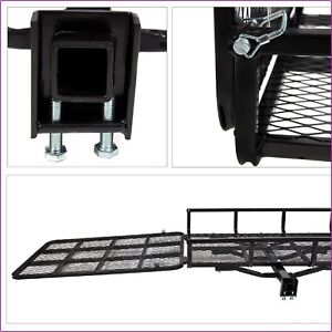 Cargo Electric Wheelchair Carrier Hitch Mobility Scooter With Loading Rack