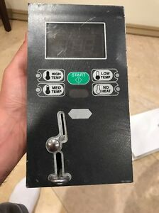 Dryer Control Assy Complete With Coin Drop Speed Queen