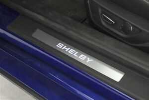 2015 2018 Shelby Ford Mustang Illuminated Led Door Entry Sill Plates