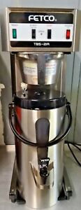 Fetco Tbs 21a Extractor Commercial 3 Gal Ice Tea Coffee Brewer W Dispenser