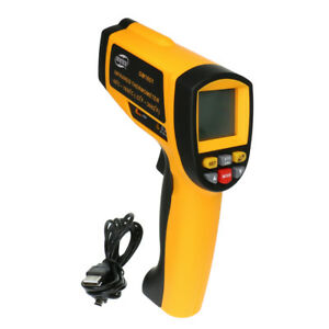 Gm1651 Non contact Lcd Ir Infrared Digital Thermometer Temperature Tester