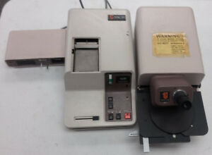 Alpha step Profilometer 10 00020 With Printer 10 00030 And Interface 10 00270