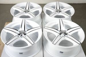 16 4 Lugs Wheels Rims Fit Corolla Civic Yaris Jetta Accord Kia Spectra White