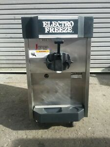 2004 Electrofreeze Cs4 Soft Serve Ice Cream Frozen Yogurt Machine Warranty