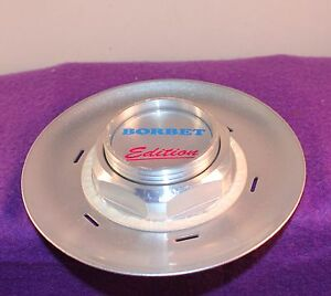Borbet Silver Custom Wheel Center Cap Set Of One 1