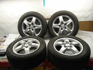 Ak70701 2012 Porsche Cayenne 8x18 Bbs Wheels And Bridgestone Tires Set Of 4 Oem