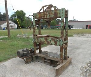 Industrial Hydraulic Press Project H Frame Pick Up Or Ship