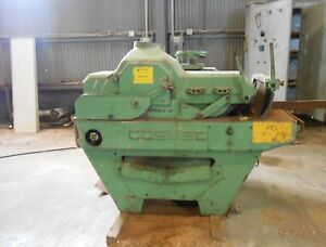 Cosmec Inc Industrial Gang Rip Saw Need Better Infeed For Maximum Cut