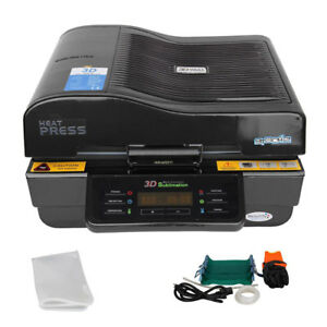 3d Multifunction Cup Heat Press Printer Machine Vacuum Transfer Sublimation Used