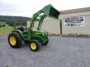 2005 John Deere 990 Compact Tractor Loader 300cx 4x4 40hp Diesel 3 Point 540 Pto