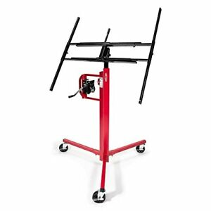 Gyptool Drywall Lift Panel Jack Hoist 11 Reach Red