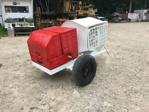 Terex Muller 312h Hydraulic Concrete Mortar Mixer Gas Free Ship W 25 Miles Only