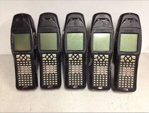 Qty5 Lot Lxe Mx1 Wireless Handheld Barcode Scanners No Batteries Missing Covers