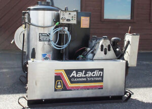 Used Aaladin 4530 d Diesel Engine 5gpm 3000psi Hot Water Pressure Washer