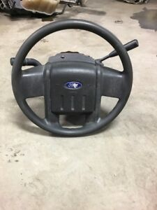2008 2010 Ford F 350 Super Duty 6 4l Non tilt Steering Column W Wheel And Key