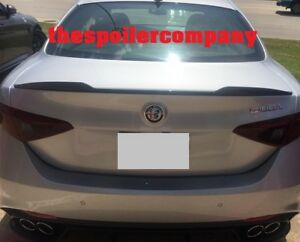 For 2017 2020 Alfa Romeo Giulia Painted Rear Spoiler Any Color No Drilling