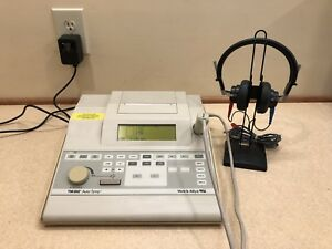 Welch Allyn Tm262 Tympanometer audiometer Combo W Current Calibration Cert